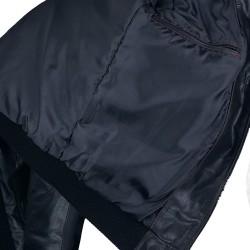 Blouson homme cuir Fly jacket vue intérieur Spitfire .jpg