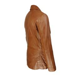 veste blazer homme cuir genevo vue de tiers