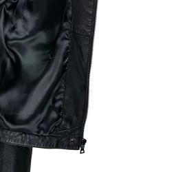 blouson femme cuir prenco vue interieur