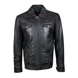 black hadadzo man leather...