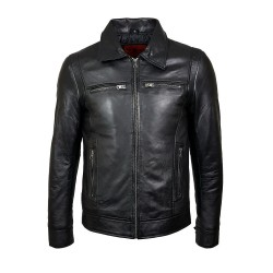 black laredo leather men's...