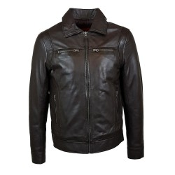 laredo brown leather men's...