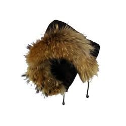 veste femme   boston brown vue de la capuche