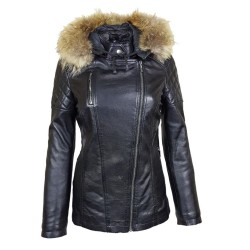 veste femme a capuche  boston black vue de face