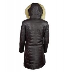 manteau-cuir-femme-maronn-dos