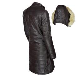 manteau-cuir-femme-maron-dos-avec-capuche-detachee