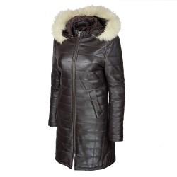 manteau-cuir-femme-maronn-face-profil-cauche