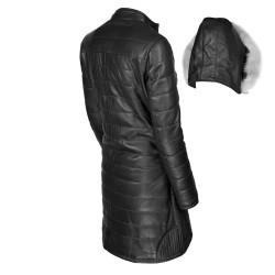 manteau-cuir-femme-noir-dos-avec-capuche-detachee