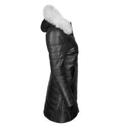 manteau-cuir-femme-noir-profil