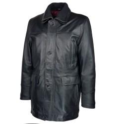 trois-quart-manteau-cuir-homme-agneau-noir-borsalino-col-amovible-tiers