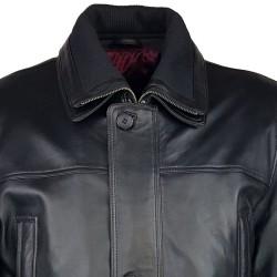 trois-quart-manteau-cuir-homme-agneau-noir-borsalino-plan