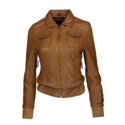 women's leather jacket revo