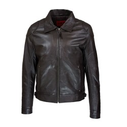 men's jacket leather bilbao...