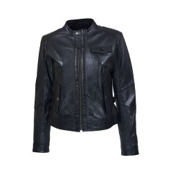 mecano leather woman jacket