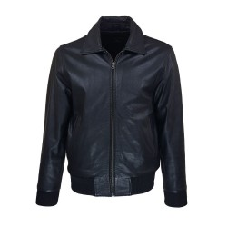 man leather jacket delgado