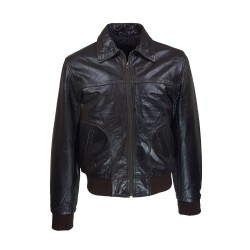 men's leather piago jacket