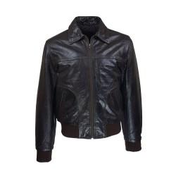 men's leather piago jacket