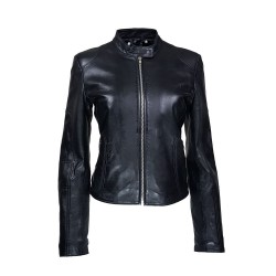 women's leather jacket parisso