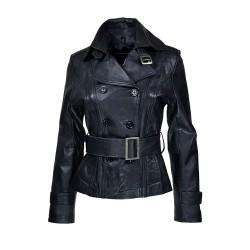 veste femme en cuir polizo