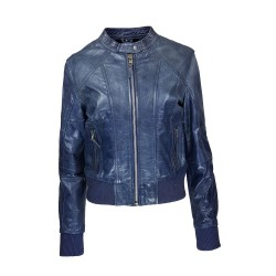 Leather women's jacket...