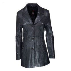 Bonie leather women's jacket