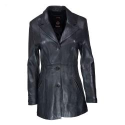 veste femme en cuir bonie