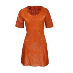 robe pénélope orange