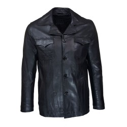 men's jacket leather turino...