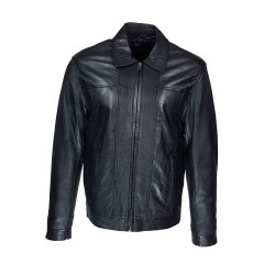 elyo leather men's jacket
